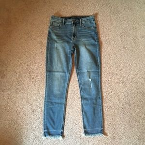 Lucky Brand Bridgette crop jeans
